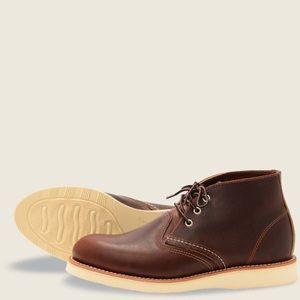 Redwing heritage chukka boots